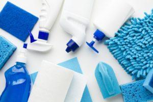 transporte de produtos de limpeza e higiene