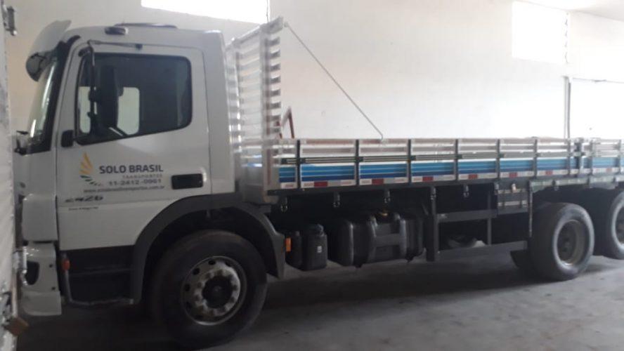 Solo Brasil Transportes - Veículos